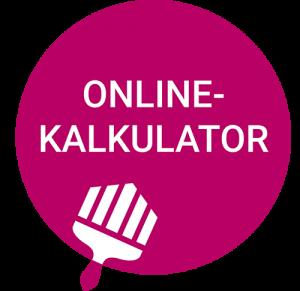 Online Kalkulator easyMaler - Malerarbeiten zum Quadratmeter-Festpreis kalkulieren und beauftragen