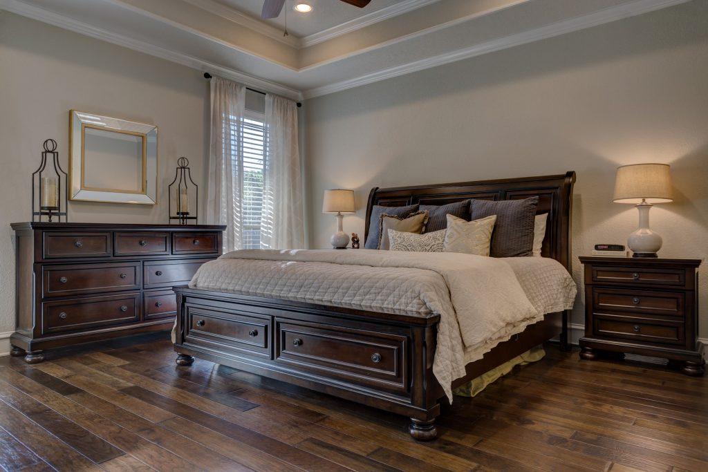 Schlafzimmer streichen